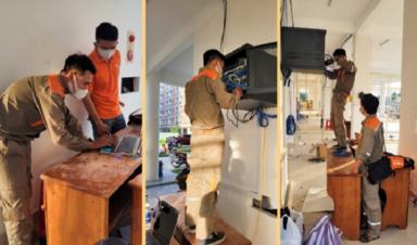 FPT Telecom thần tốc phủ sóng Internet miễn phí cho bệnh viện dã chiến Đà Nẵng